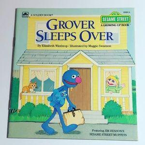 Grover Sleeps Over by Elizabeth Winthrop